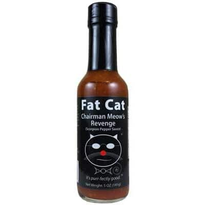 Fat Cat Chairman Meow's Revenge Hot Sauce