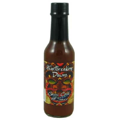 Heartbreaking Dawns Classic Gold Hot Sauce
