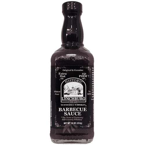 Historic Lynchburg Tennessee Whiskey BBQ Sauce - Extra Hot