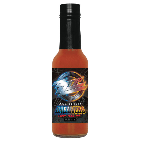 ZZ Top Habanero Hot Sauce