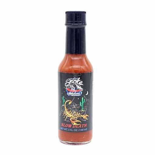 Rising Smoke Sauceworks Slow Death Hot Sauce