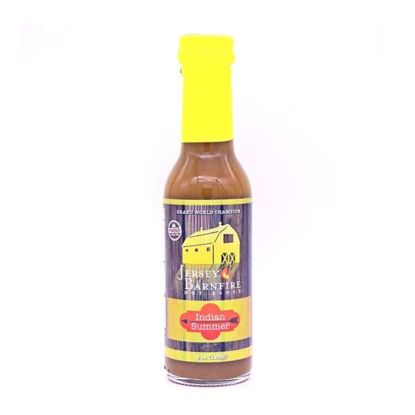 Jersey Barnfire Indian Summer Hot Sauce