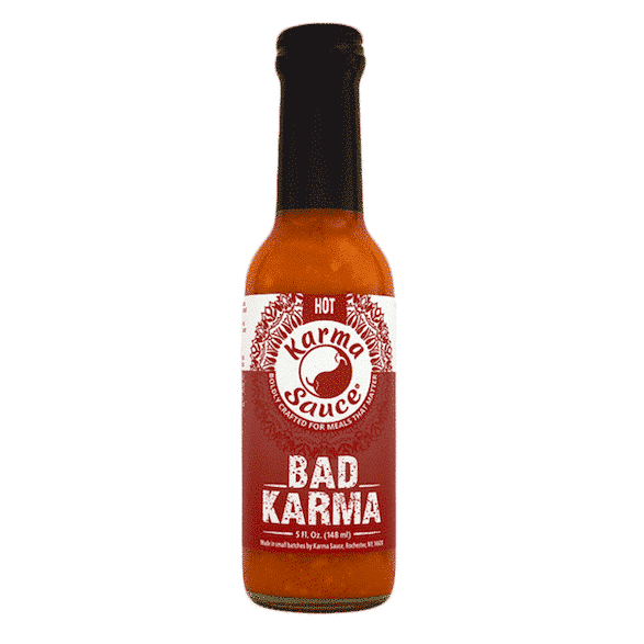 Karma Sauce Bad Karma Hot Sauce