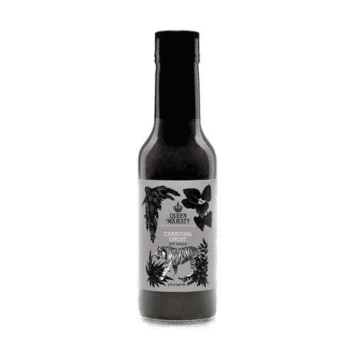 Queen Majesty Charcoal Ghost Hot Sauce