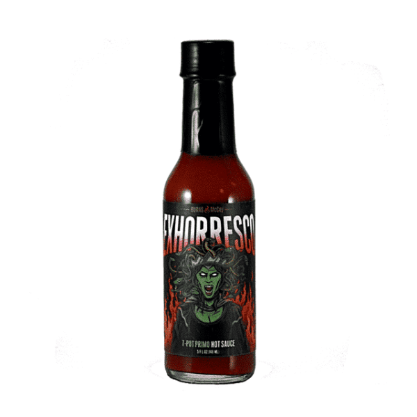 Burns & McCoy Exhorresco 7-Pot Primo Hot Sauce
