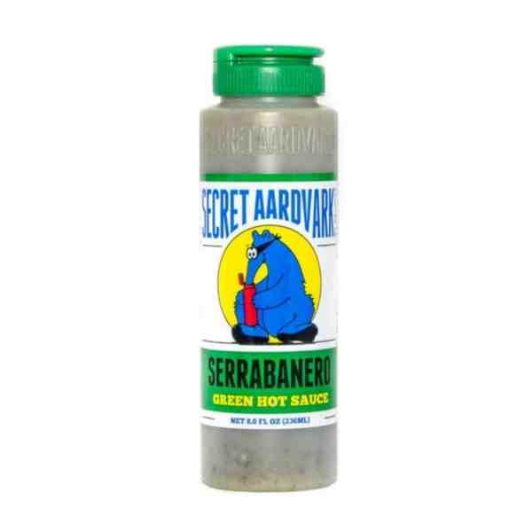 Secret Aardvark Serrabanero Green Hot Sauce