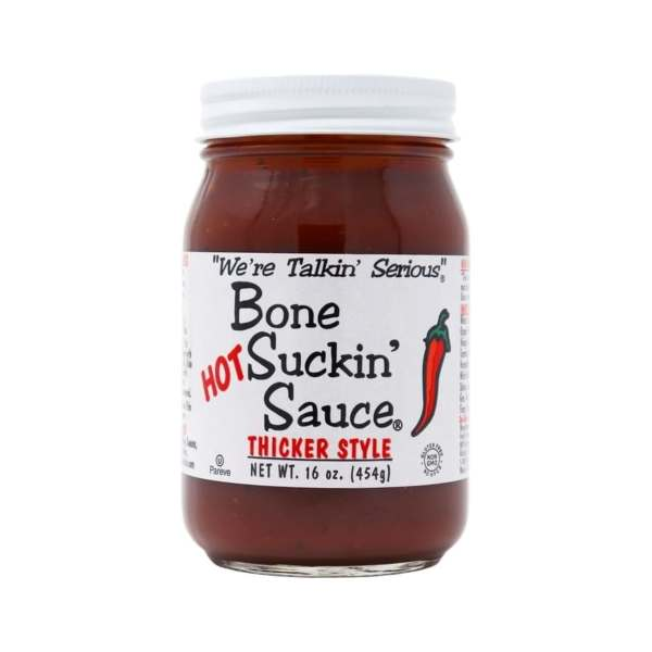 Bone Suckin' BBQ Sauce - Hot Thicker Style