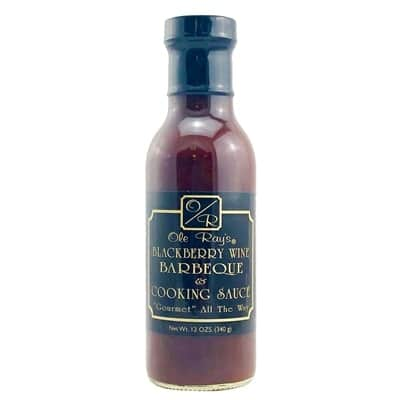 Ole Ray's Blackberry Wine BBQ Sauce