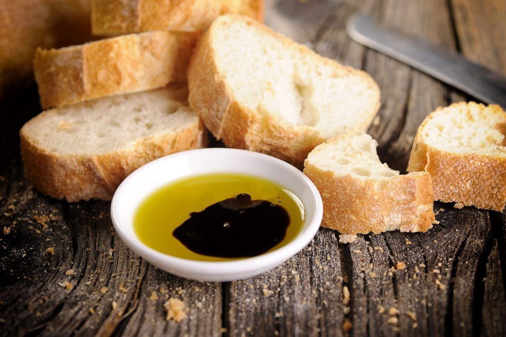 used a dip mixed with olive oil is a good way on how to use balsamic