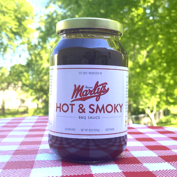 Marty's BBQ Sauce - Hot & Smoky