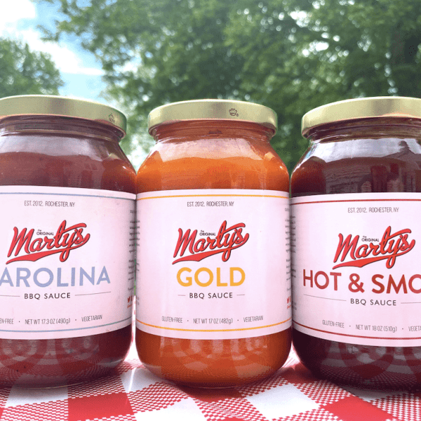 Marty's BBQ Sauce - 3 Pack