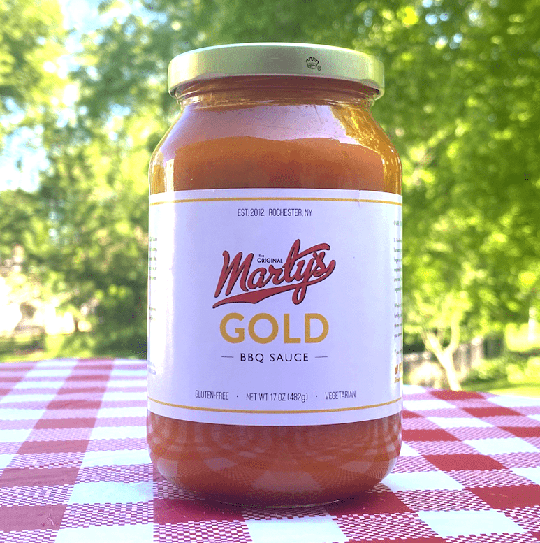 Marty's BBQ Sauce - Gold