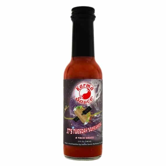Karma Sauce It's Tuesday Somewhere Hot Sauce