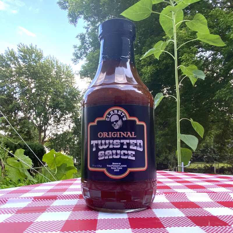 Clarky's Original Twisted BBQ Sauce