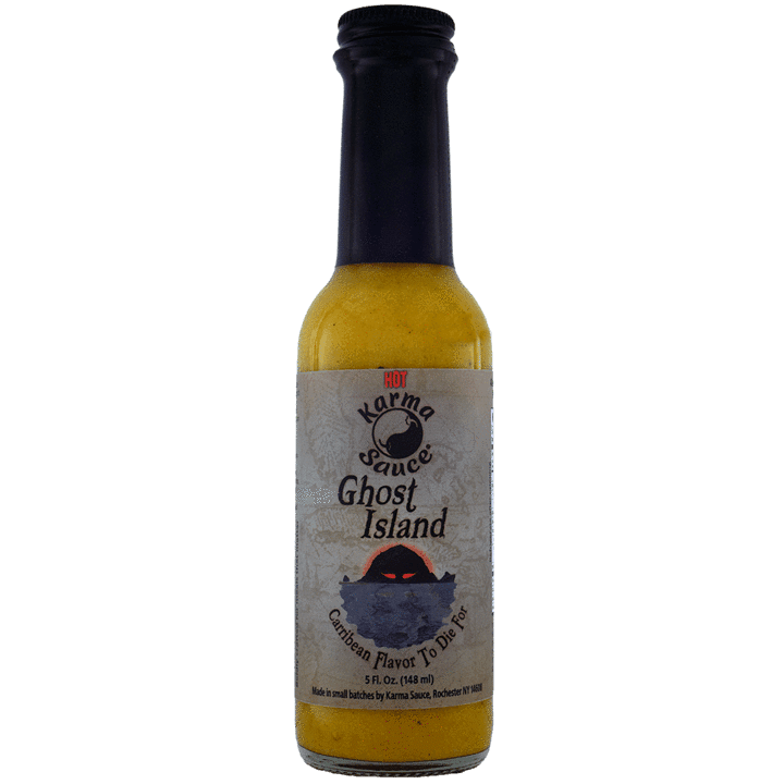 Karma Sauce Ghost Island Hot Sauce