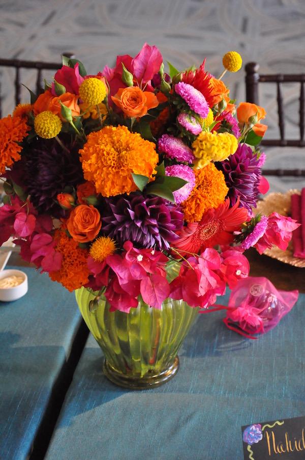 Dia De Los Muertos Flowers  More