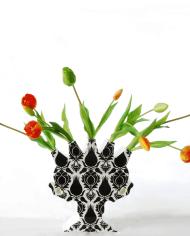 Tulips-orange-green-Lotte-van-Laatum