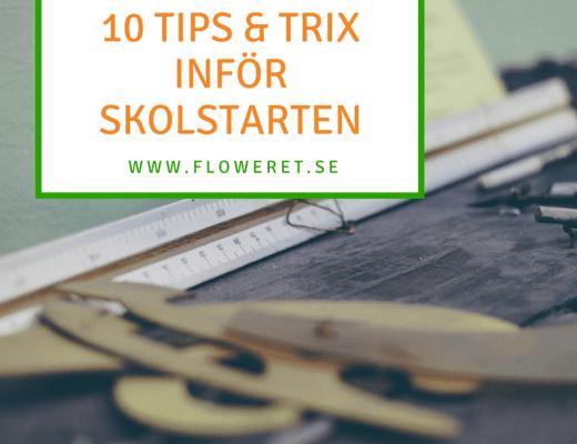 10 tips inför skolstarten