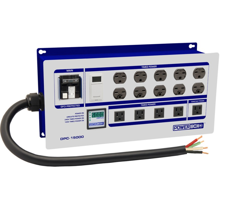 medium resolution of 10 light controller with digital ammeter 60a 4 wi
