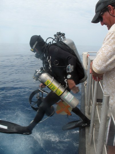 Carlos Luis Aguilera Borjas: Diving with Nitrox