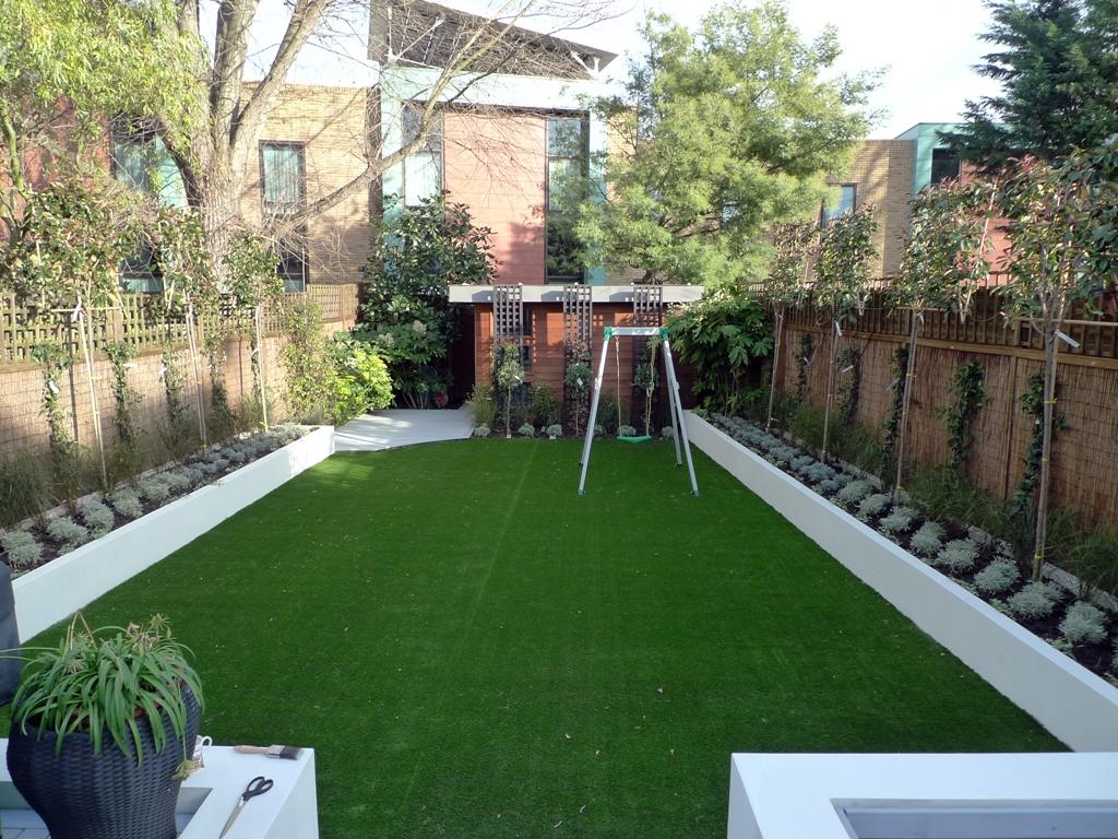 Modern Low Maintenance Minimalist Garden Design Idea Balham And Wandsworth London London Garden Design