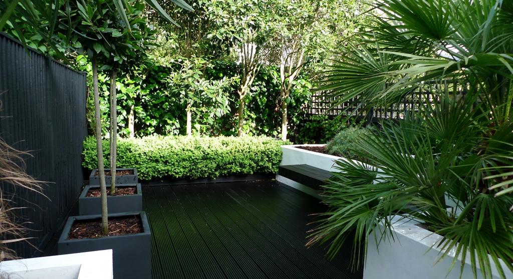 Modern Urban Garden Design Brixton London  London Garden Design