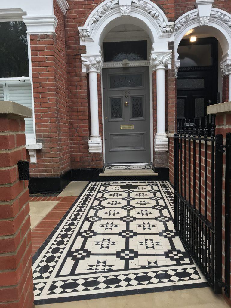 Garden Design Company  Victorian Restoration Mosaic