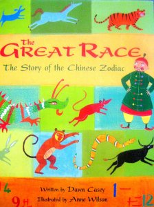 The Great Race The Story Of The Chinese Zodiac Multicultural Childrens Book Day Flowering