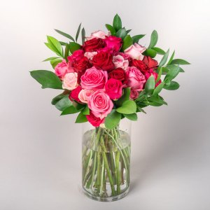 Bouquet of Pink Roses | Flowerist