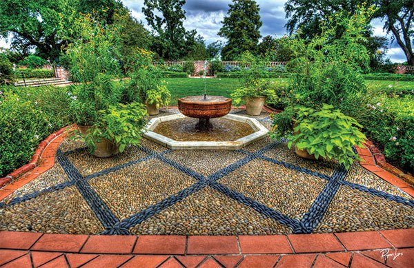 Rock Garden at Longue Vue Gardens | Photo Courtesy of Longue Vue Gardens. | Photo by Ryan Lips