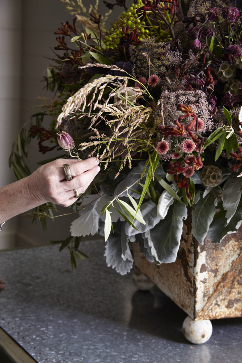 How To Arranging With Texture Flower Magazine