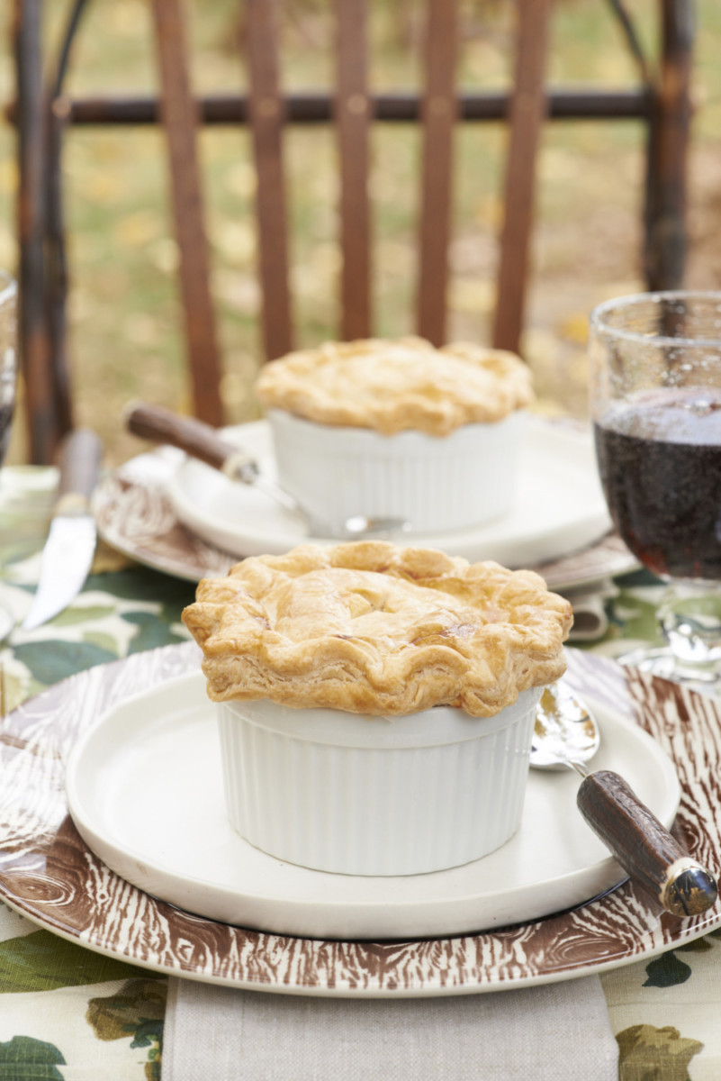 Savory Chicken Pot Pies