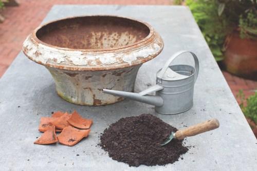 container herb garden supplies