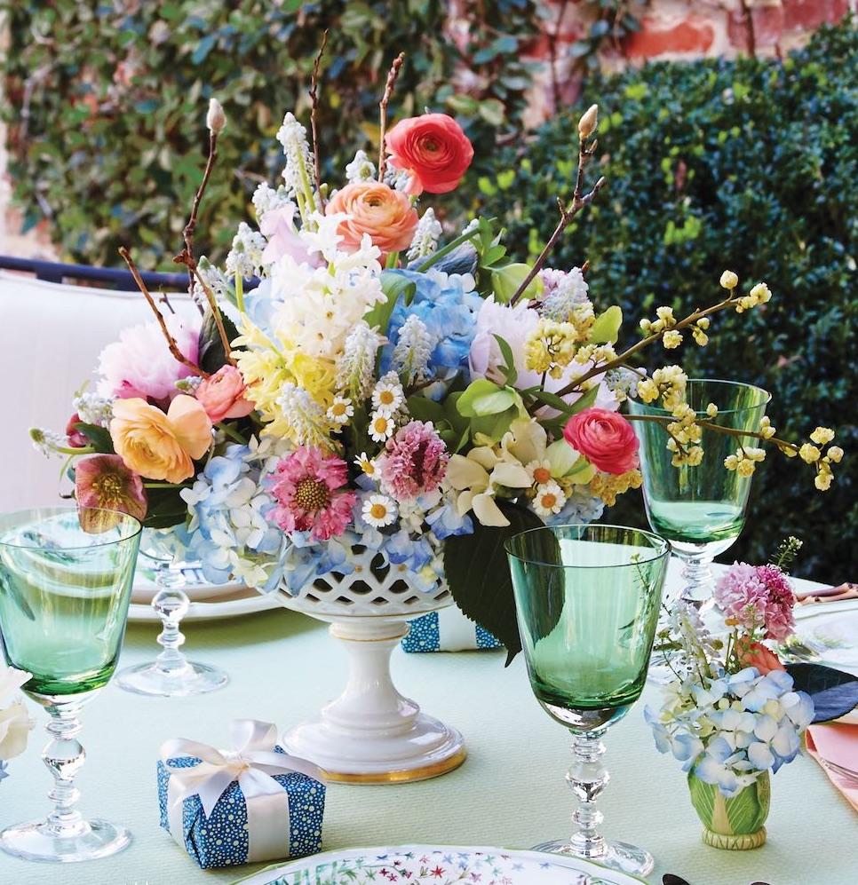 Vintage Garden Party Flowers