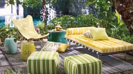 colorful outdoor furniture