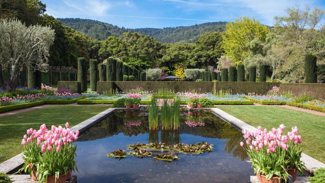 american estate gardens, filoli
