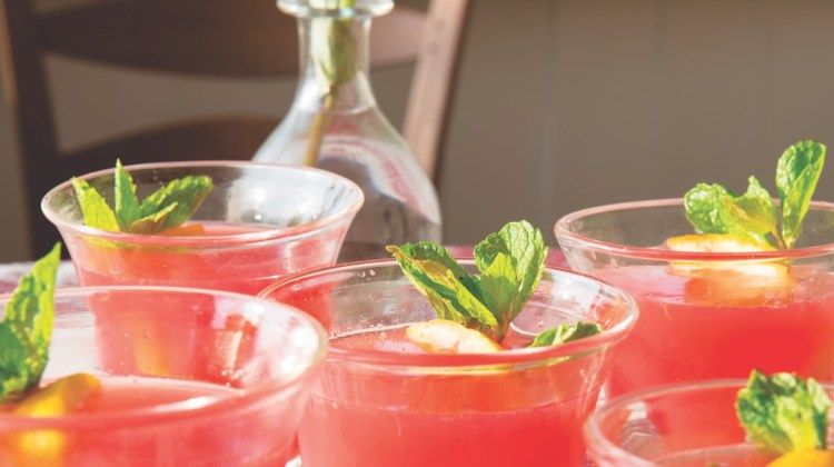 pink perfection cocktails recipe, julia reed