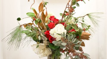 christmas gift arrangement