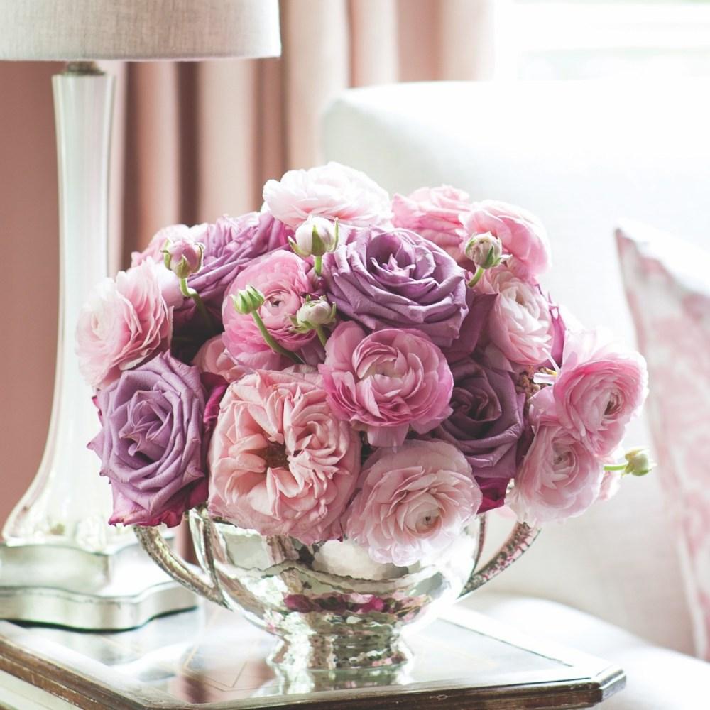 Michal Evans pink arrangement