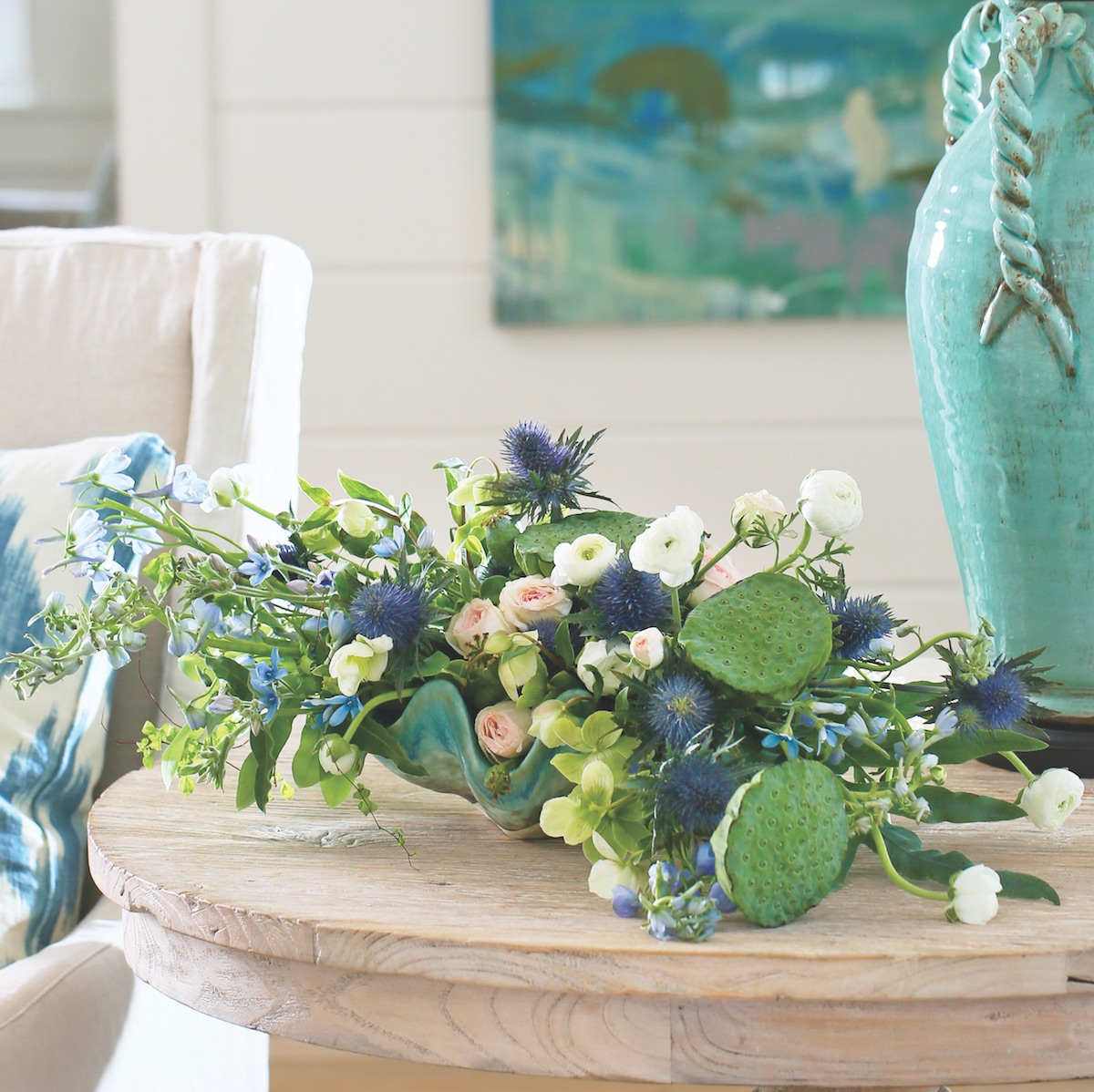 Myrtie Blues Florals For Coastal Hues Flower Magazine