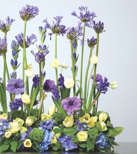 flower garden arrangement