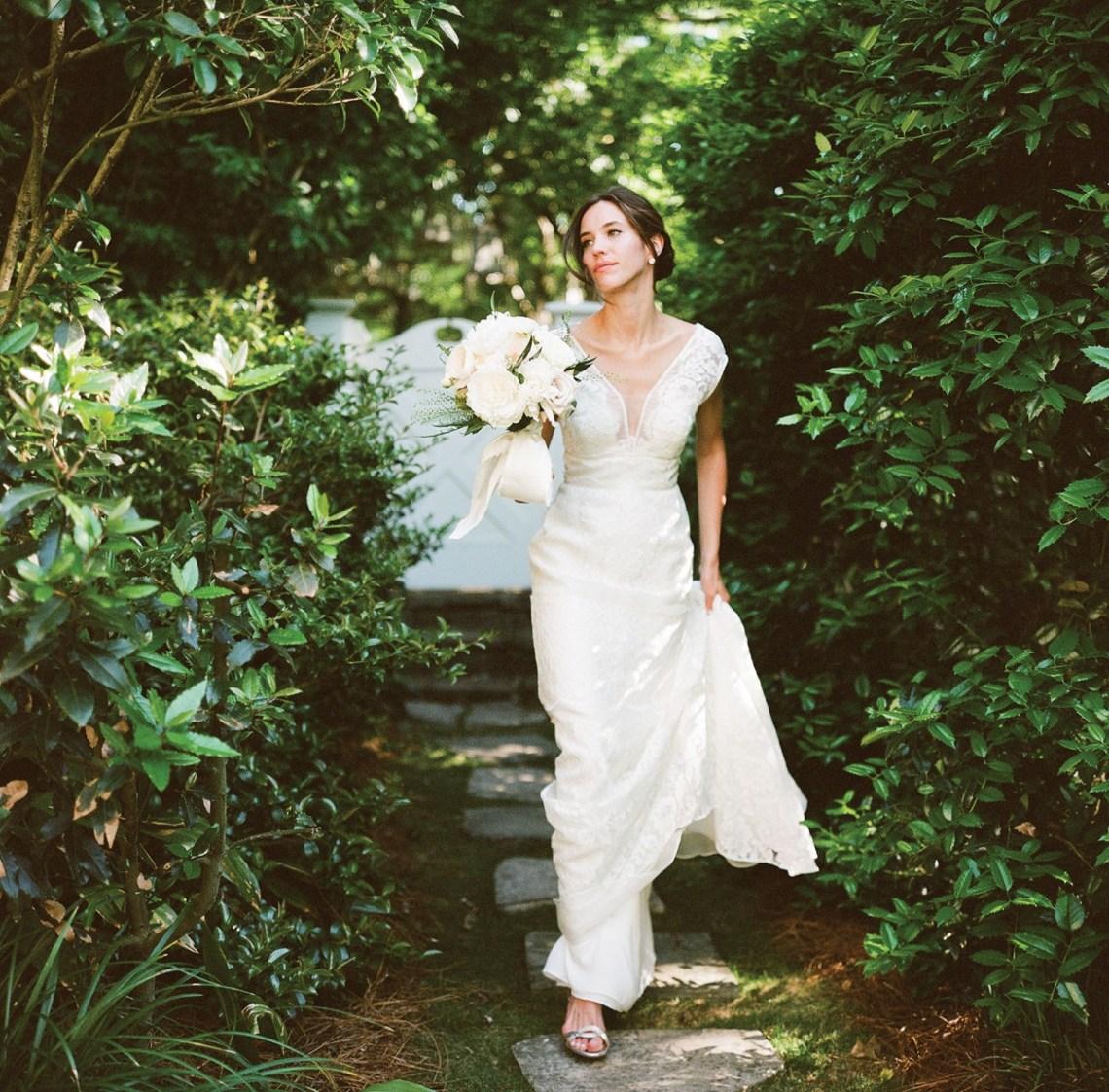 bride, carleton rafield wedding