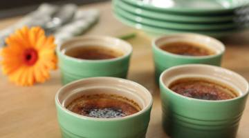 pumpkin creme brulee, p allen smith