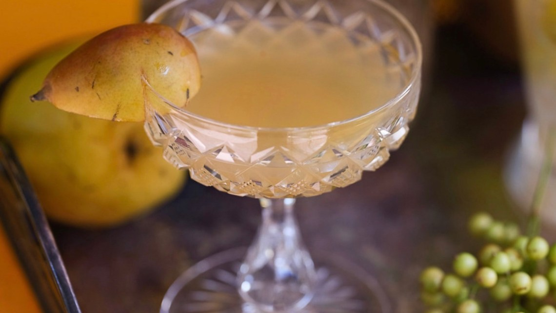 gin pear cocktail