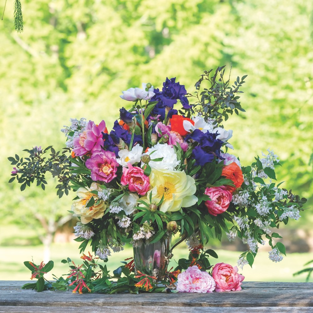 Zeze Peony Arrangement, Zezé's Flower Farm