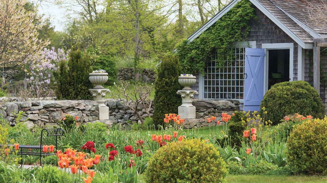 Gioia Browne, Little Compton garden