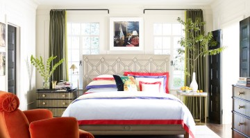 Interior designer Jeffrey, bedroom Bilhuber