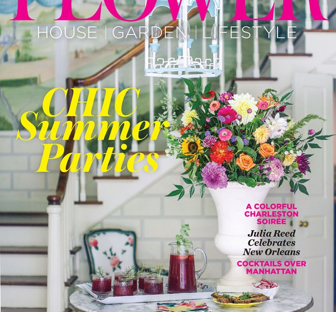 July/August 2019 cover of Flower Magazine