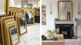 Atlanta-based Allison Hennessy sources mirrors from antique markets and share how she incorporates them into real homes