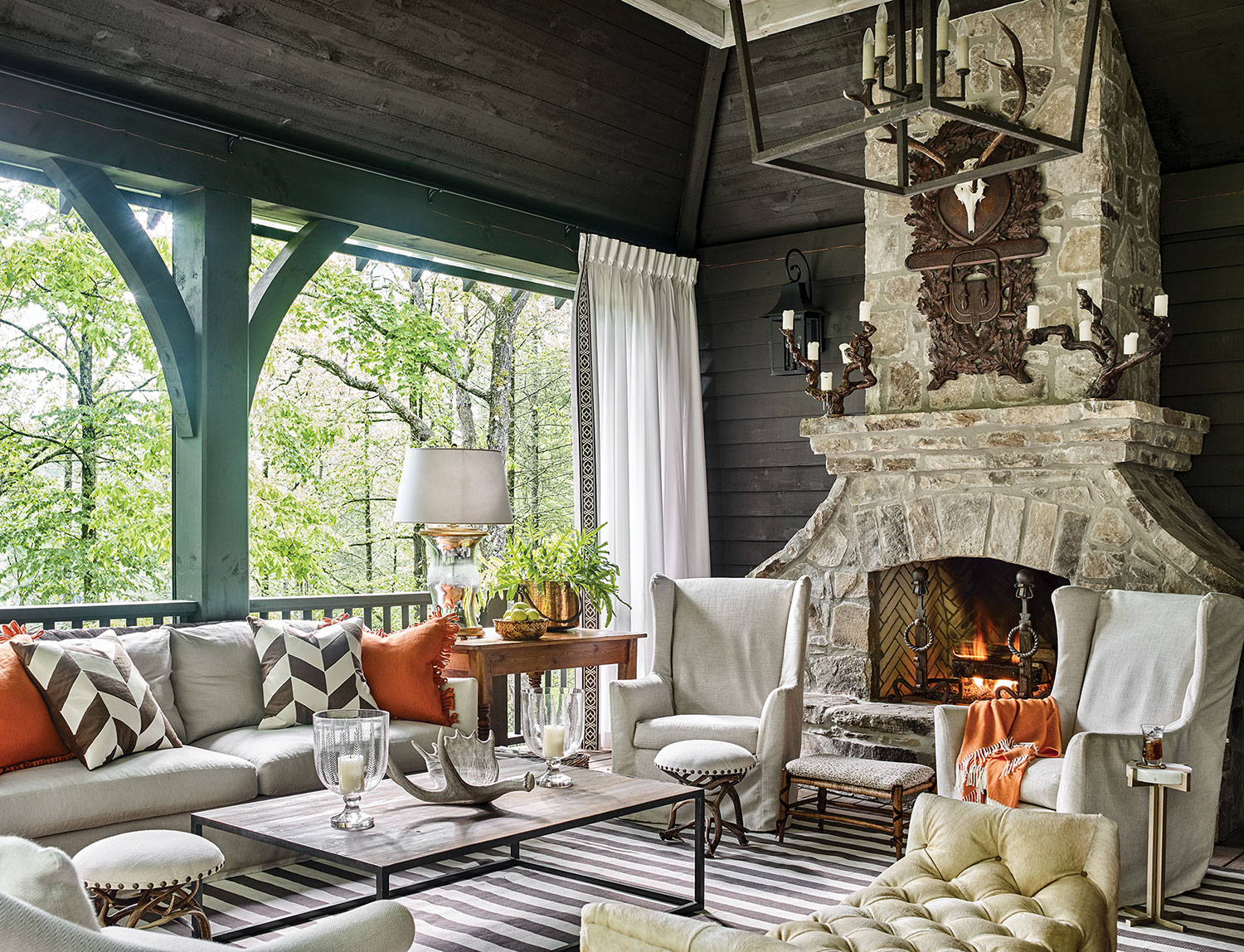 Chic mountain house design ideas - Flower Magazine